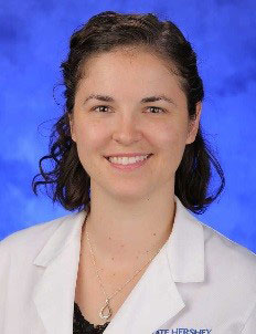 Dr. Stephanie Harris is pictured in a professional head-and-shoulders photo